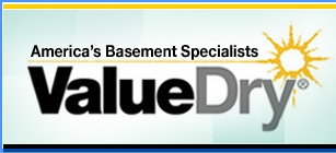 Sump pump installation & repair by Value Dry.